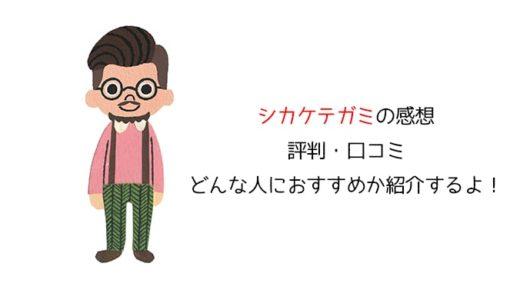 【絵本】シカケテガミを使った感想!評判や口コミ、価格などを紹介!